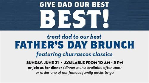 Best Brunch for the Best Dad!