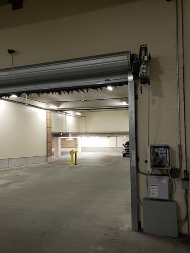 Rapid Slat High Speed Parking Garages