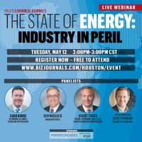 Houston Business Journal LIVE WEBINAR: The State of Energy: Industry in Peril