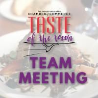 Taste of the Town Team Meeting