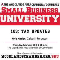 Small Business University 103: Tax Updates
