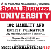 Small Business University 104: Liability and Entity Formation