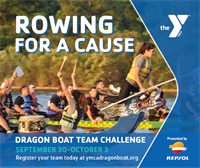 22nd Annual YMCA Dragon Boat Team Challenge Presented by Repsol