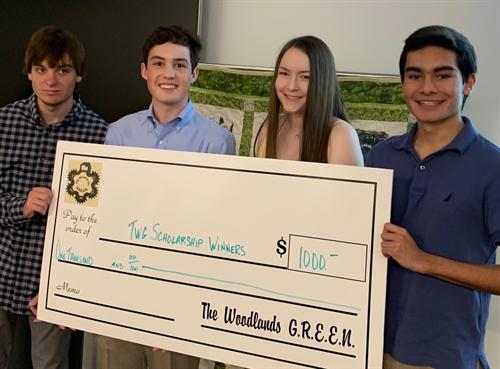 High school scholarship winners (2019)