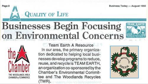 Chamber Environmental Committee (1992)