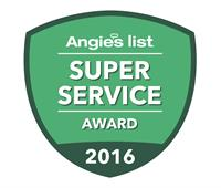 4th Year Angie's Super Service Award