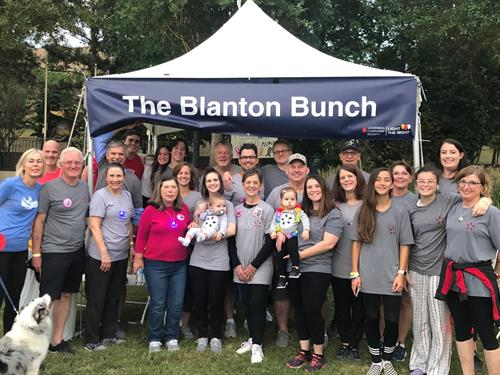 The Blanton Bunch for Light The Night