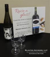 Blanton Advisors 5 year Anniversay