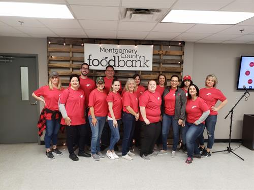 Haynie & Company - The Woodlands Service Project @ MC Food Bank 2019