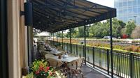 Our beautiful terrace!