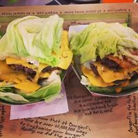 Yes, we have GREEN STYLE burgers! Healthy options still can taste good!