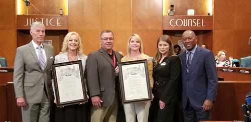 Awarded by the Mayor of Houston