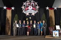 HONORS, KEY TO THE CITY, PROCLAMATIONS GIVEN AT  MEADOR STAFFING 50TH ANNIVERSARY EVENT