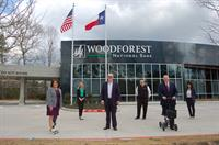 THE NEW WOODFOREST NATIONAL BANK BRANCH IN  WOODFOREST DEVELOPMENT COMMUNITY NOW OFFICIALLY OPEN