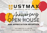 USTMAX 1st Anniversary Open House & Appreciation Reception