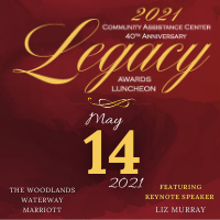 Community Assistance Center invites you to the 2021 Legacy Awards Luncheon!