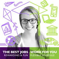 The best jobs work for you!