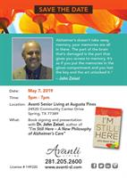 Book Signing and Presentation with Dr. John Zeisel