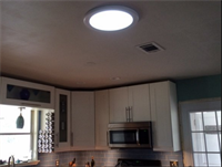 Individual solar lighting options, save electrical cost during the day in dark rooms.
