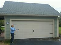 Carriage house door install