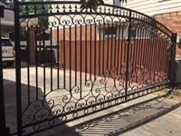 Swing gate install