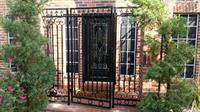 Porch gate install