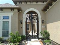 Courtyard gate install