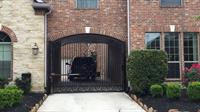 Driveway gate and operator install