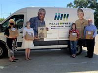 AniMeals Donation supplies food for Homebound Senior's Pets for a Year
