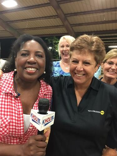 KHOU with Sherry Williams