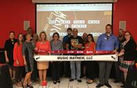 Music Mayhem ribbon cutting at Incredible Pizza in Conroe