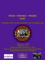 Music Mayhem Alzheimers Longest Day Event 2016