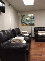 Our comfy chairs provide a relaxing experience during your therapy.