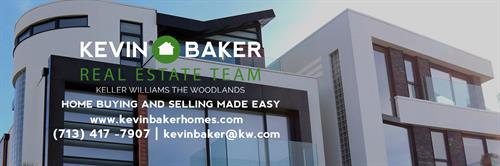 kevin baker homes and real estate team Keller WIlliams The Woodlands  luxury homes