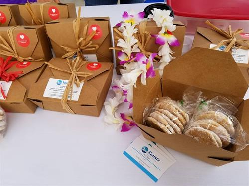 Gift box presentation