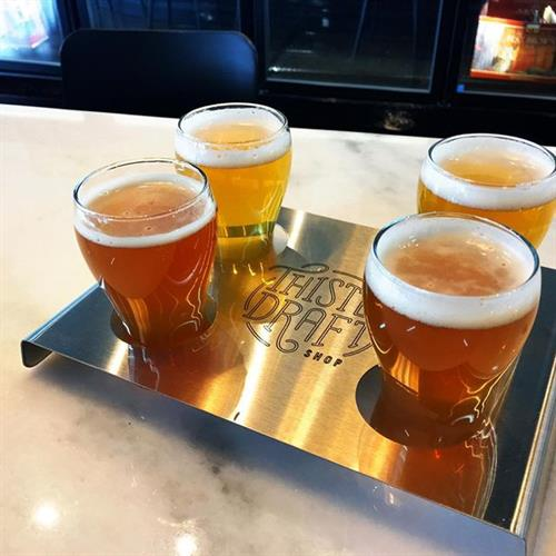 Beer Flights!  Cheers!
