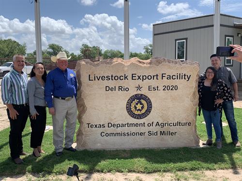 Livestock Export Facility - Del Rio