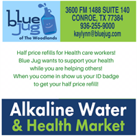Blue Jug Alkaline Water Store and Health Market - Conroe