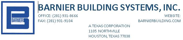 Barnier Building Systems, Inc