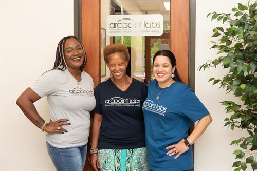 Meet the team!  Mela, Maureen & CeCe
