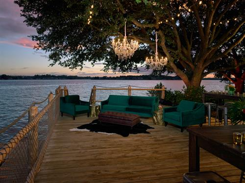Waterpoint Landing Deck at Margaritaville Lake Resort, Lake Conroe | Houston