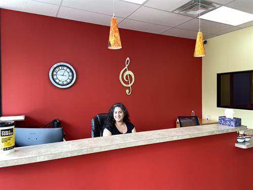 Welcome & Reception Area