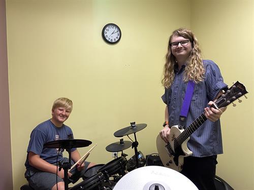Guitar & Drums Lessons