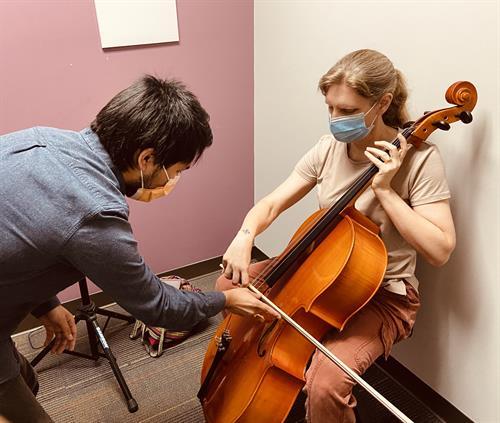 In-Studio Cello Lessons