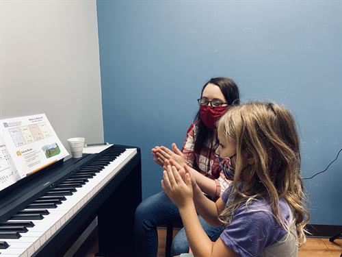In-Studio Piano Lessons