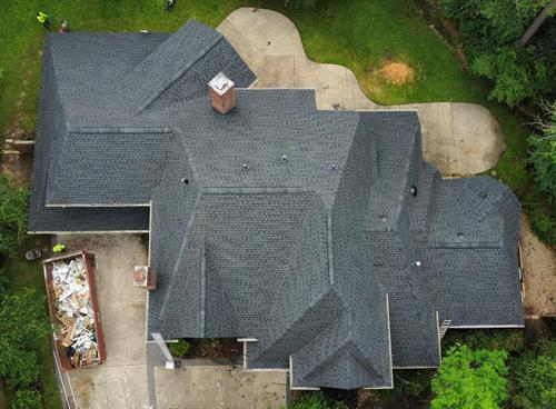 A new roof gives new life to an older home!