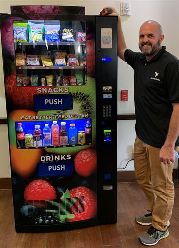 Delivering state of the art healthy vending machines to you.