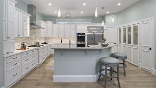 Florida inspired kitchen
