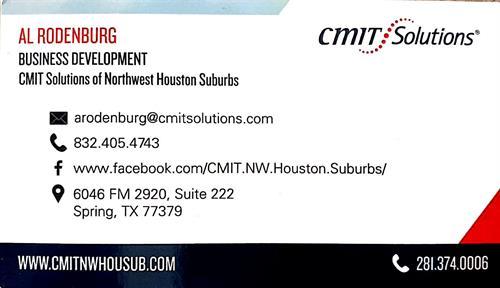 Al's business card