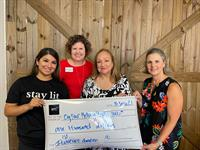 arc electric + lighting donates to cy-fair helping hands as part of ''love,arc'' charitable arm